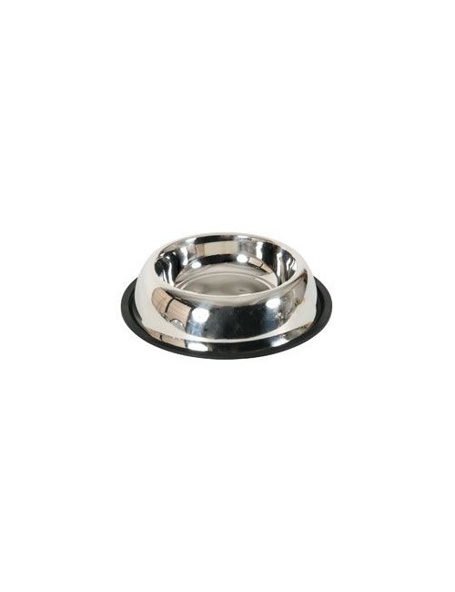 Miska nerez protiskluz pes STEEL 0,225 l Zolux