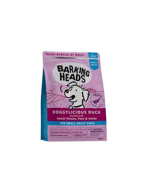 BARKING HEADS Doggylicious Duck (Small breed) 4kg