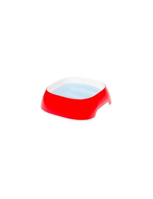 Miska plast GLAM SMALL 0,4l červená FP