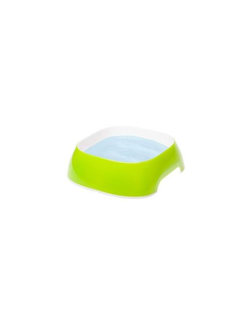 Miska plast GLAM SMALL 0,4l žlutozelená FP