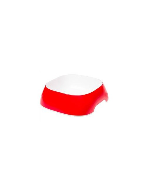 Miska plast GLAM LARGE 1,2l červená FP
