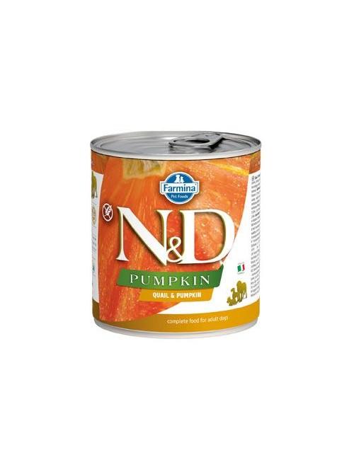N&D DOG PUMPKIN Adult Quail & Pumpkin 285g