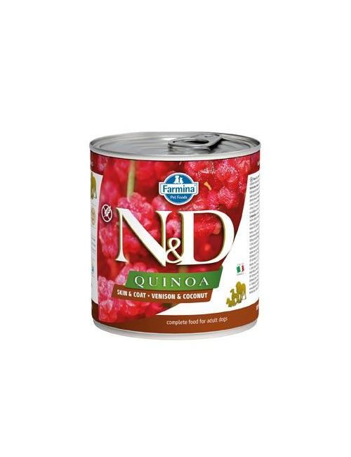 N&D DOG QUINOA Adult Venison & Coconut 285g