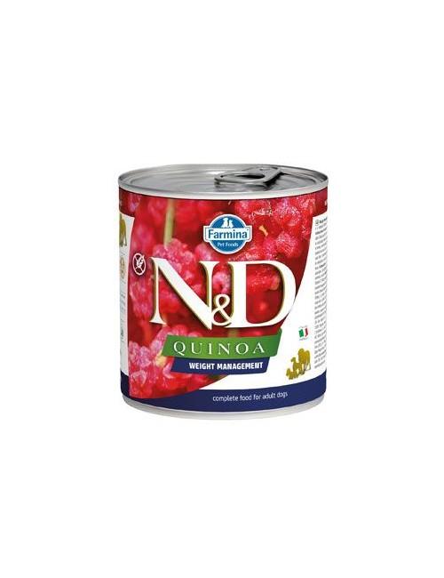 N&D DOG QUINOA Ad. Weight Mngmnt Lamb & Brocolli 285g