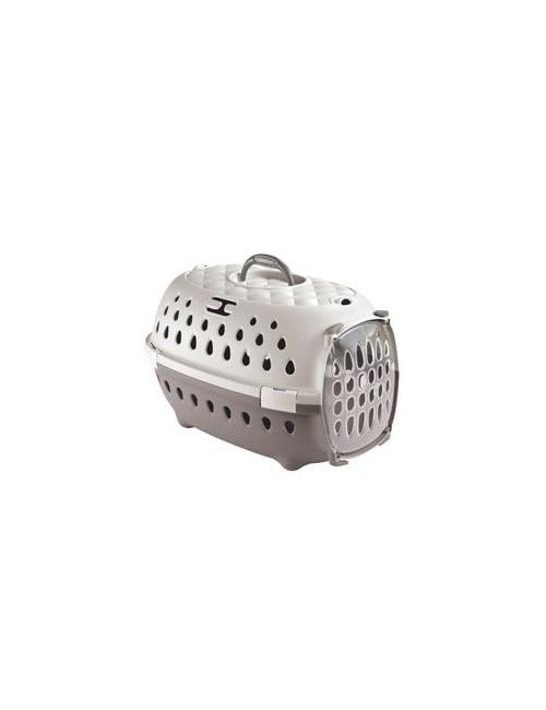 Přepravka pro psy TRAVEL SMART šedá/béžová Zolux