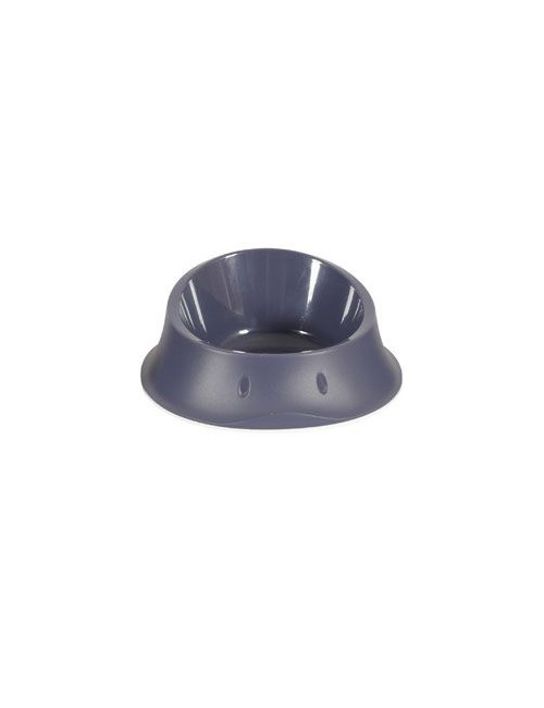 Miska plast protiskluz pes SMART 0,35l antracit Zolux
