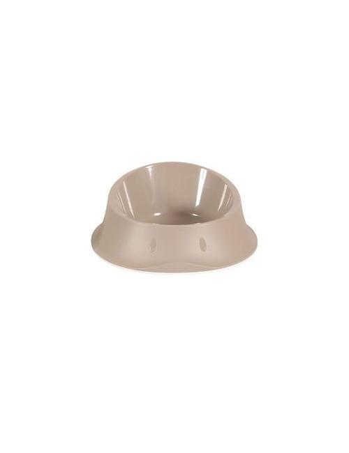 Miska plast protiskluz pes SMART 0,65l béžová Zolux
