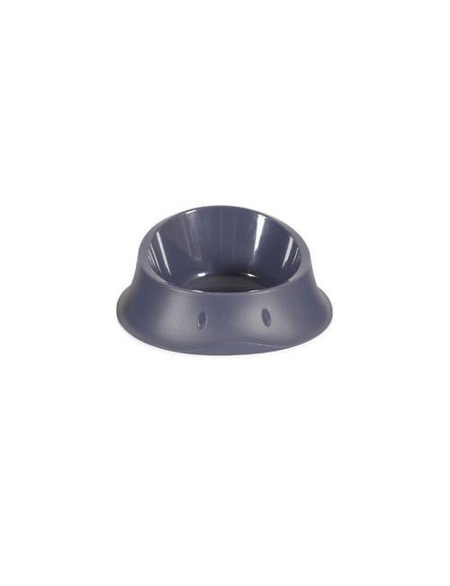 Miska plast protiskluz pes SMART 1l antracit Zolux