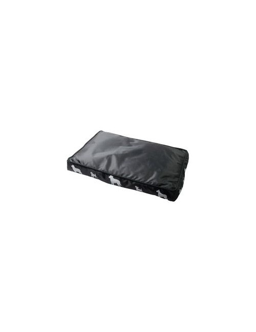 Pelech s bočním potiskem 60x40x7cm černý