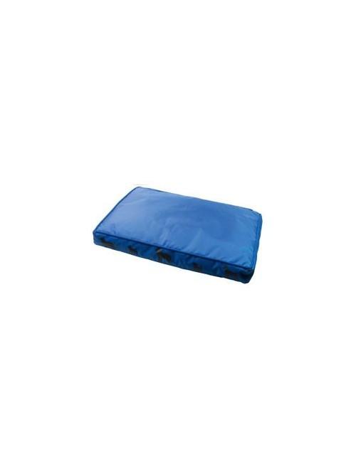 Pelech s bočním potiskem 60x40x7cm modrý
