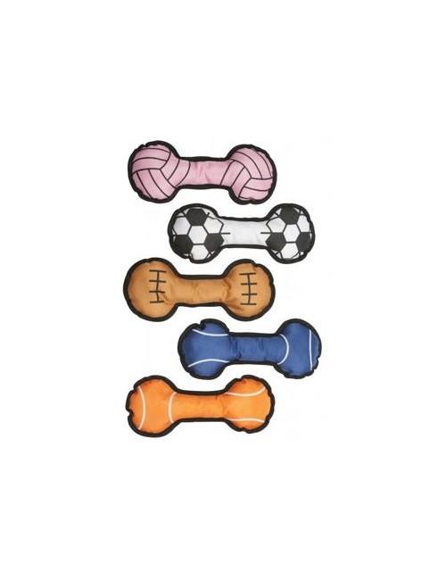 Hračka pes textiní 26x10cm, různé druhy