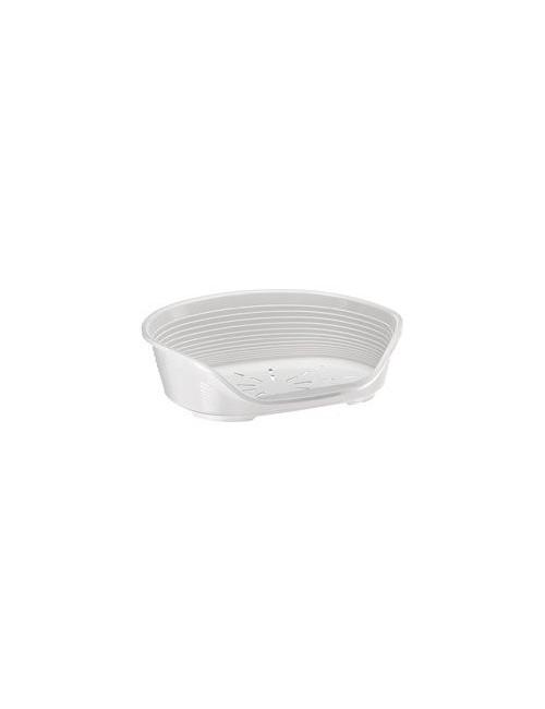 Pelech plast SIESTA DLX 8 bílý 82x59,5x25cm FP 1ks