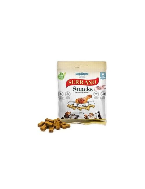 Serrano Snack for Dog-Turkey 100g