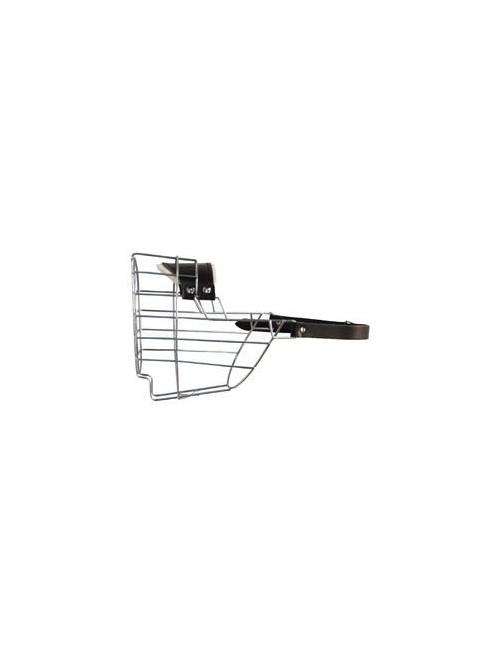 Náhubek kovový CHOPO Knírač velký,Briard,Bobtail F/Zn