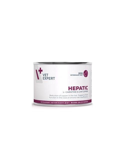 VetExpert VD 4T Hepatic Dog konzerva 200g