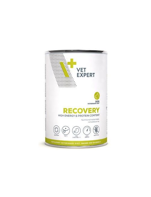 VetExpert VD 4T Recovery Dog konzerva 400g