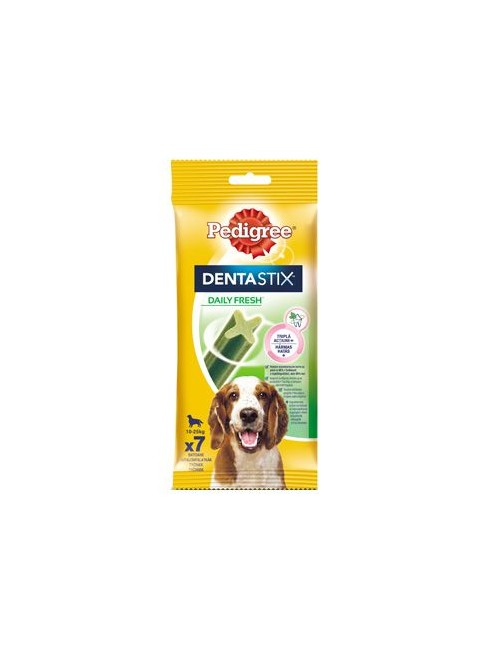 Pedigree Pochoutka Denta Stix Fresh Medium 7ks (180g)