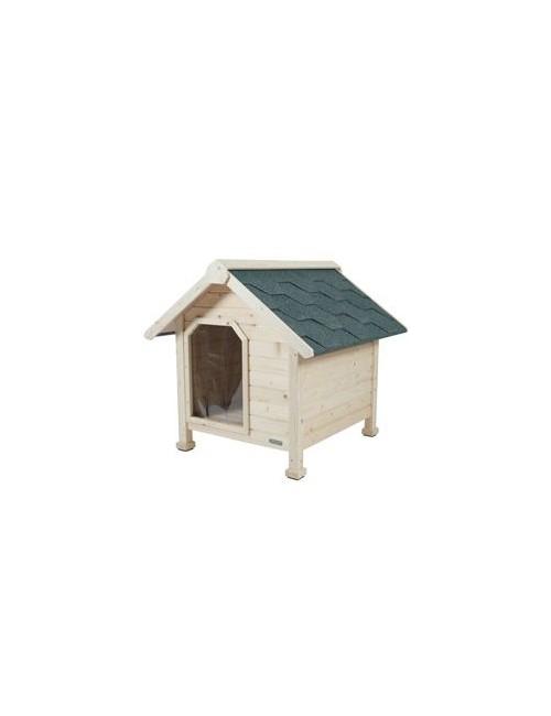 Bouda dřevěná pro psy M 84x90x86cm Zolux