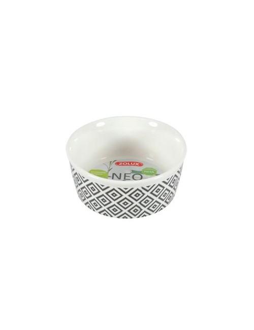 Miska keramická NEO hlodavec kočka  250ml bílá Zolux