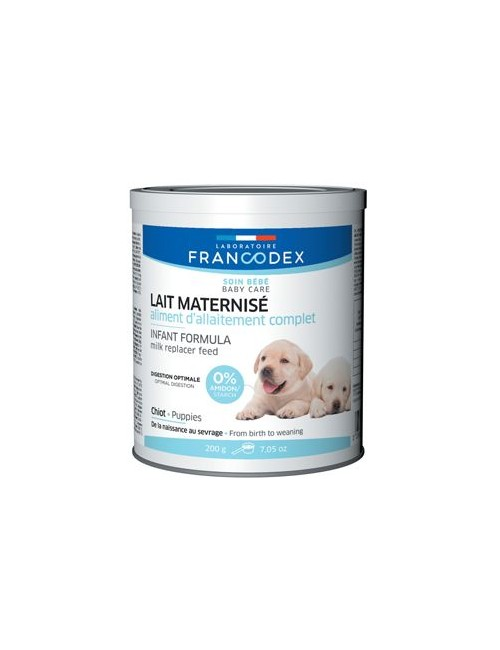 Francodex Mléko náhradní krmivo pro štěňata plv 200g