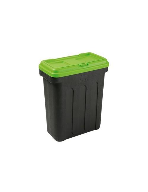 MAELSON Box na granule černá/zelená 15kg