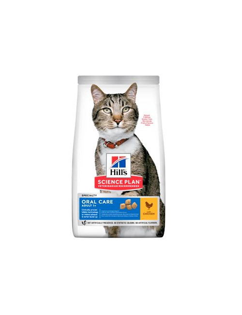 Hill's Fel. Dry Adult Oral Care Chicken 7kg