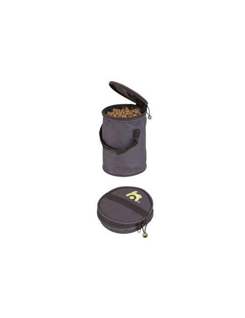 Zásobník na granule cestovní skládací pro 2,3 kg krmiv