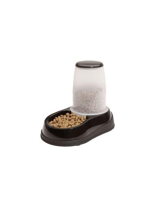 Miska se zásob. na krmivo 1,5kg černo-bílá Maelson