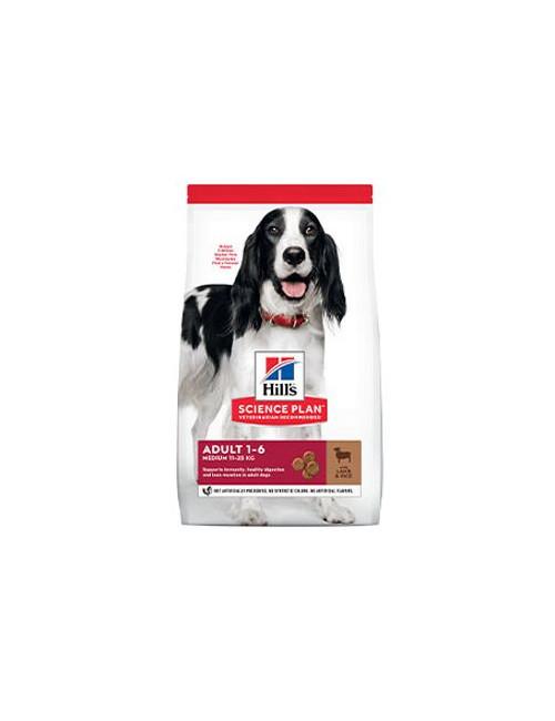 Hill's Can.Dry SP Adult Medium Lamb&Rice 2,5kg