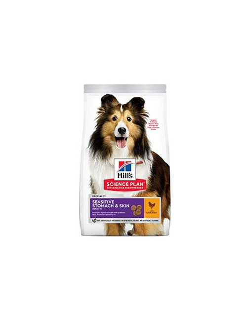 Hill's Can.Dry SP Sensitive Adult Medium Chicken 2,5kg