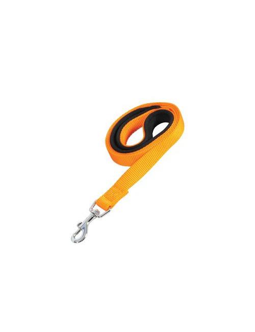 Vodítko pes SOFT NYLON oranžové 25mm/1m Zolux