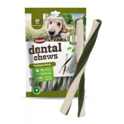 Dental Chews Twisted Stick máta a čaj 170g/12ks