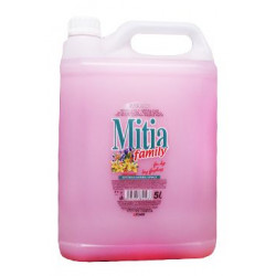 Mýdlo tekuté Mitia Family Springs Flowers 5l