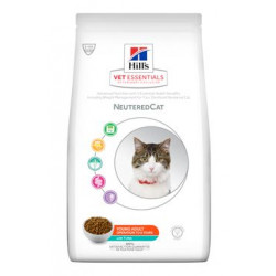 Hill's Fel.Dry VE Young Adult Neutered Tuna 1,5kg
