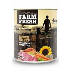 Farm Fresh Dog Sheep with Sweet Potatoes konzerva 800g