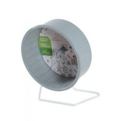 Kolotoč plastový prům.12cm, kovová základna šedý Zolux