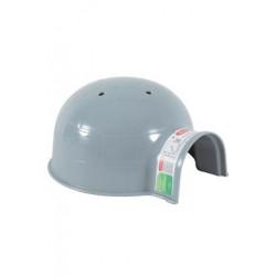 Domek pro hlodavce IGLOO plast malý šedý Zolux