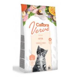 Calibra Cat Verve GF Kitten Chicken&Turkey 750g