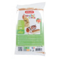 Crunchy Cake mrkev pro hlodavce 75g Zolux