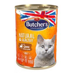 Butcher's Cat Natur.&Healthy s jelením masem 400g