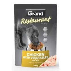 GRAND kapsička pes 300g 100% kuřecí