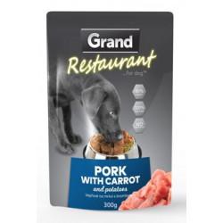 GRAND kaps. pes 300g 100% vepřové s mrkví