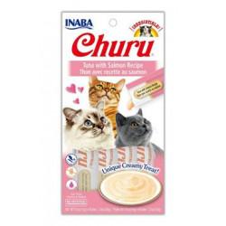 Churu Cat Purée Tuna with Salmon 4x14g