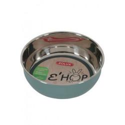 Miska nerez EHOP hlodavec 400ml zelená Zolux