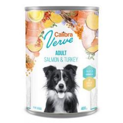 Calibra Dog Verve konz.400g GF Adult Salmon&Turkey