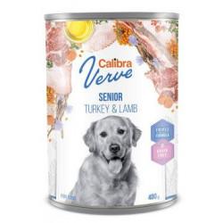 Calibra Dog Verve konz.400g GF Senior Turkey&Lamb