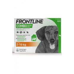 FRONTLINE COMBO spot-on pro psy S (2-10kg)-3x0,67ml