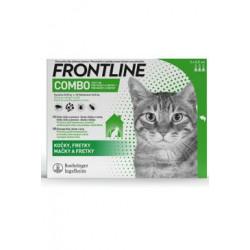 FRONTLINE COMBO spot-on pro kočky - 3x0,5ml