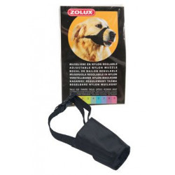 Náhubek fixační pes nylon nastavitelný T8 Zolux