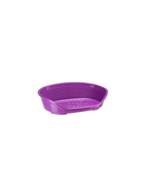 Pelech plast SIESTA DLX 12 fialový 111x80,5x33cm FP